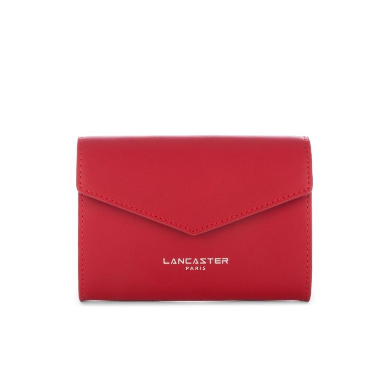 Lancaster Constance  Grand Porte Monnaie 137-12 Rouge