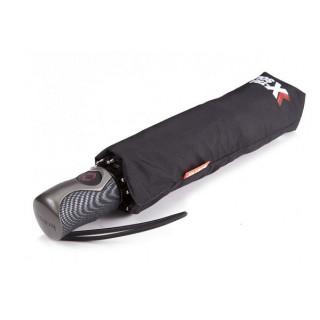 Isotoner Parapluie Homme Pliant Automatique X-TRA Solide Noir