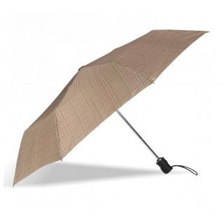 Isotoner Parapluie Homme Pliant Automatique X-TRA Solide Prince de Galles