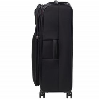 Jump Toledo 2.0 valise Verticale souple 75cm Trolley 4 Roues Noir cote