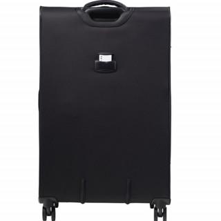 Jump Toledo 2.0 valise Verticale souple 75cm Trolley 4 Roues Noir dos