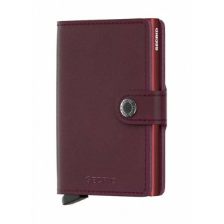 Secrid Porte-Carte Miniwallet Original Bordeaux