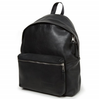 Eastpak Padded Sac à Dos Pak'R Leather 38r Black Metal