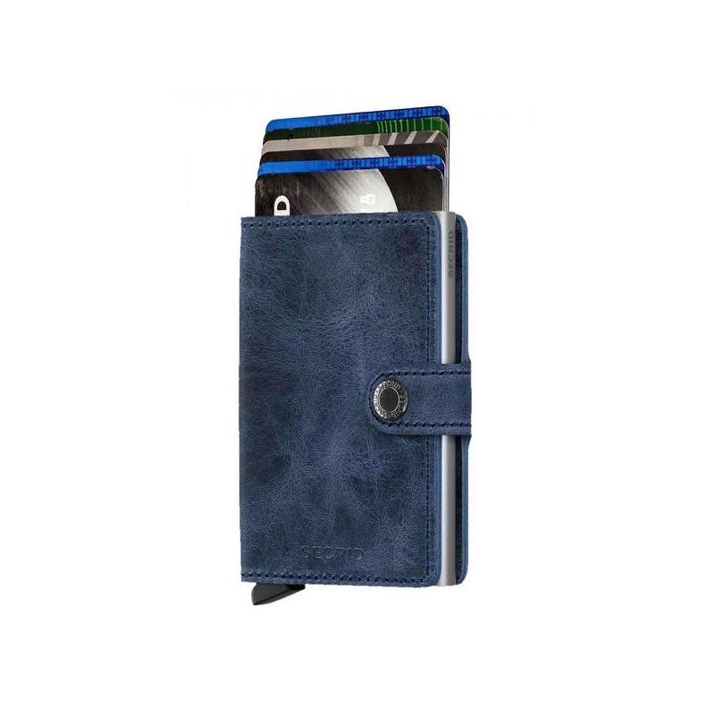 Secrid Porte-Carte Miniwallet Vintage Blue