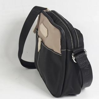 Lancaster Basic Sport Crossbody Bag 510-29 Black Galet