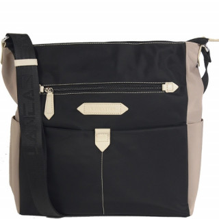 Lancaster Basic Sport Grand Sac Porté Travers 510-28 Noir Galet