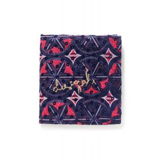 Desigual Foulard Rectangle Birmania Carmin