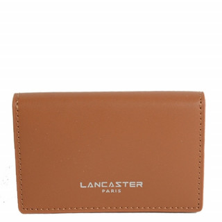 Lancaster Smooth Homme Porte Cartes 128-72 Camel In Na