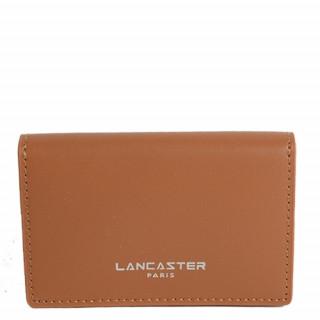 Lancaster Smooth Homme Porte Cartes 128-72 Camel In Na