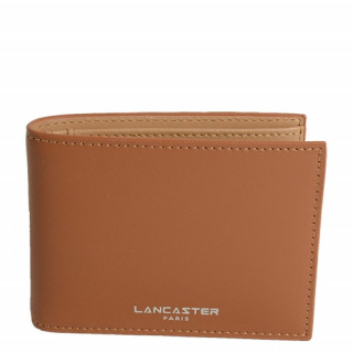 Lancaster Smooth Homme Porte Cartes 128-73 Camel In Na