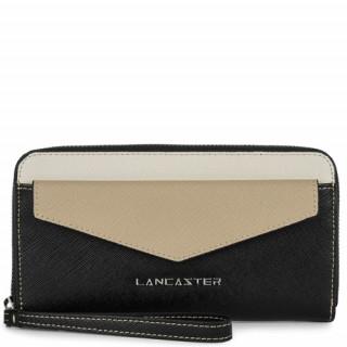 Lancaster Saffiano Signature Tout en Un 127-04 Noir GI