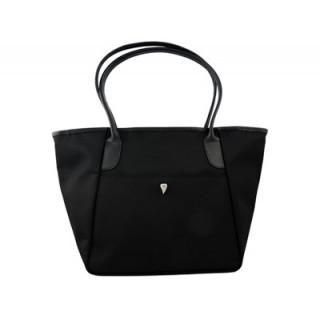 Lancaster Cabas Easy Basic Shopping Moyen Noir face