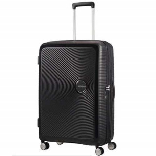 American Tourister Sound Box  77 cm Valise Trolley 4 Roues Black Bass