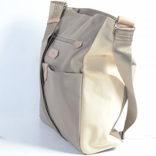 Lancaster Basic Sport Grand Sac Porté Travers 510-28 Galet Beige