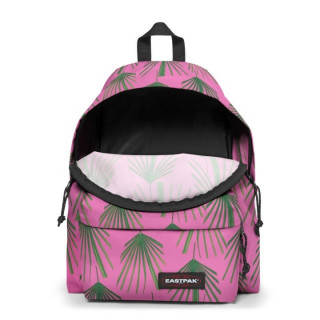 Eastpak Padded Sac à Dos Pack'R 96r Square Leaves ouvert