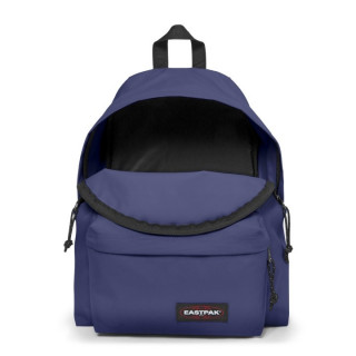 Eastpak Padded Sac à Dos Pack'R 96r Square Leaves 62s Vital Purple ouvert