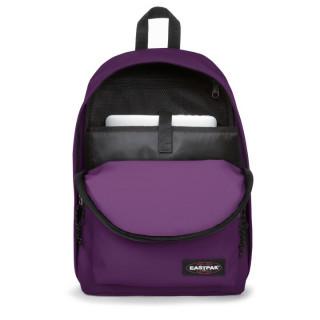 "Eastpak Out Of Office Sac à Dos PC 15"" 28t Power Purple ouvert"