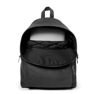 Eastpak Padded Pak'R 762 Sac à Dos 64o Black Ink Leather ouvert