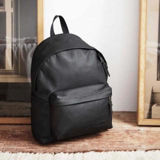Eastpak Padded Pak'R 762 Sac à Dos 64o Black Ink Leather 5