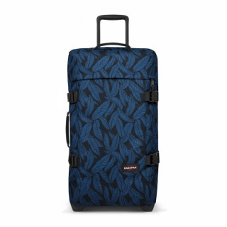 Eastpak Tranverz M TSA Sac de Voyage 43t Leaves Blue