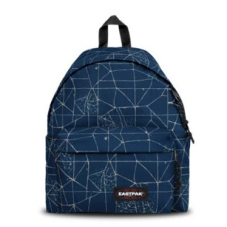 Eastpak Padded Sac à Dos Pack'R 66t Cracked Blue