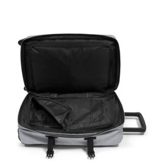 Eastpak Strapverz S (TSA) Bagage Cabine et Sac à Dos 363 Sunday Grey ouvert