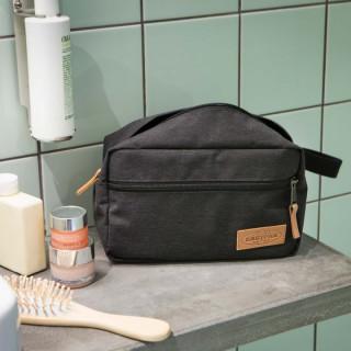 Eastpak Yap Single Trousse de Toilette Aminimal 55s Black Jeansy ouvert