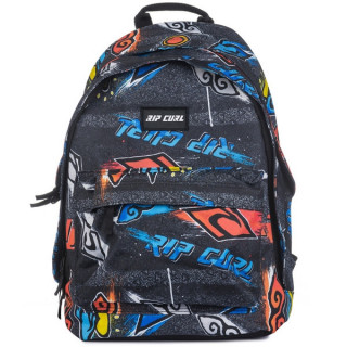Rip Curl Brush Stokes Sac à dos Double Dome Black FACE
