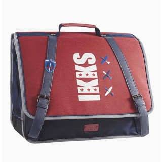 IKKS Flight Cartable 38cm Rouge