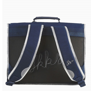 IKKS Oh My Captain Cartable 35cm Bleu dos