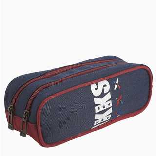 IKKS Flight Trousse Double Bleu
