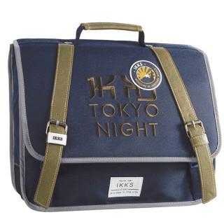 IKKS Tokio Cartable 38cm Bleu
