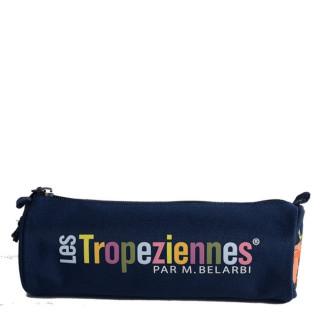 Les Tropeziennes Wissant Trousse Ronde Bleu