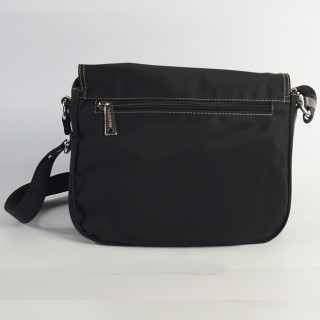 Lancaster Basic Sport Crossbody Bag 510-25 Black Taupe Grey