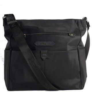 Lancaster Basic Sport Grand Sac Porté Travers 510-28 Noir