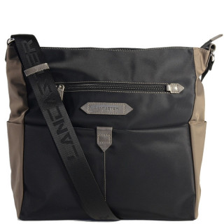 Lancaster Basic Sport Grand Sac Porté Travers 510-28 Noir TG