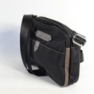 Lancaster Basic Sport Crossbody Bag 510-29 Black Taupe Grey