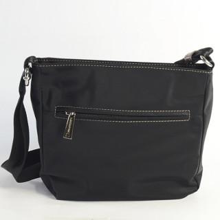 Lancaster Basic Sport Crossbody Bag 514-25 Black Taupe Grey