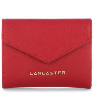 Lancaster Saffiano Signature Portefeuille Dos à Dos 127-02 Rouge