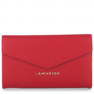 Lancaster Saffiano Signature Tout en Un Dos à Dos 127-03 Rouge