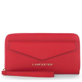 Lancaster Saffiano Signature Tout en Un 127-04 Rouge