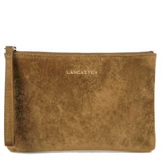 Lancaster Velvet Sac Pochette 219-01 Gold