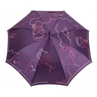 Parapluie Piganiol Droit Skins Silhouette