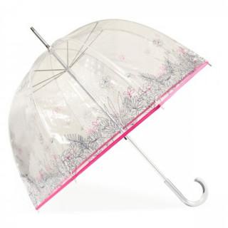 Isotoner Parapluie Droit PVC Manuel Fonds Marins