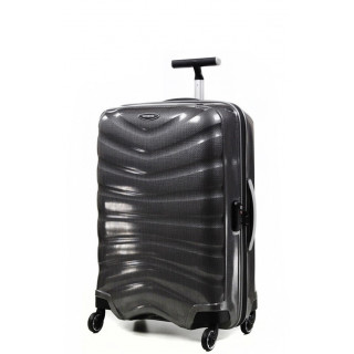 Samsonite Firelite Spinner 69 cm Valise Trolley 4 Roues Eclipse Grey