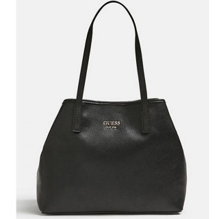 Guess Vikky Sac Shopping et Pochette 2 en 1 Black face