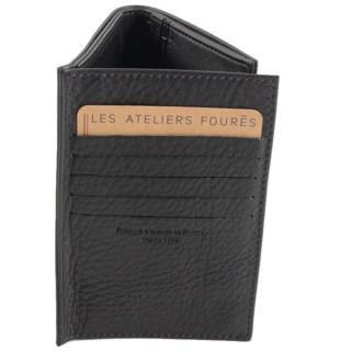 Jean Louis Fourès Latitude Portefeuille Europeen 3 Volets 14 Cm Noir