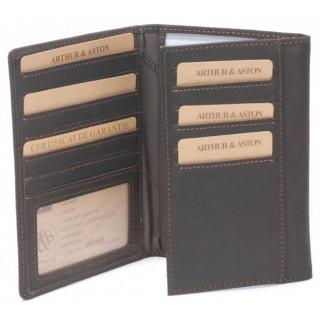 Arthur et Aston Chic & Casual  Porte Papiers et Cartes 94-111 Chataigne