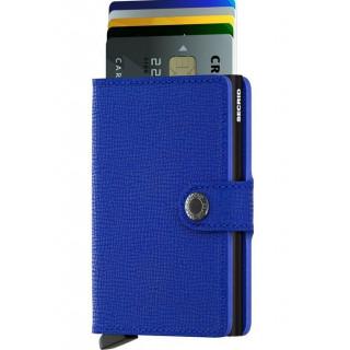 Secrid Porte-Carte Miniwallet Crisple Blue Black