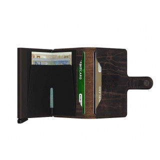 Secrid Porte-Carte Miniwallet Dutch Martin Cacao Brown